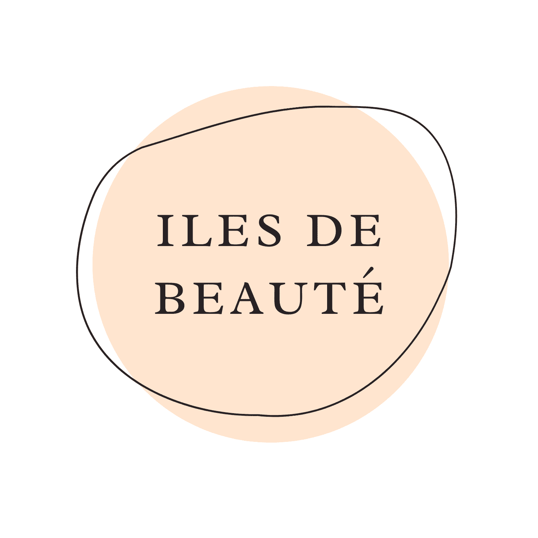 Cream and Black Natural Makeup Beauty Logo